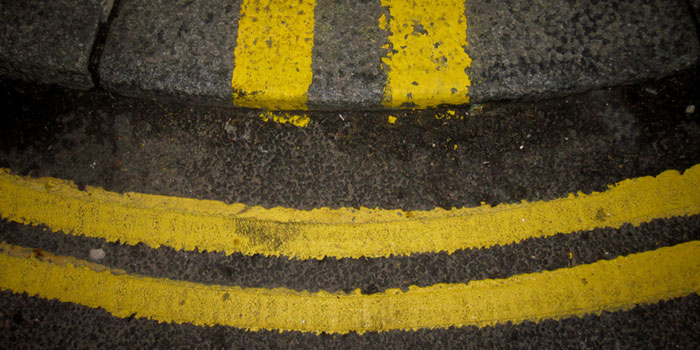 Double Yellow Lines and Parking Fines